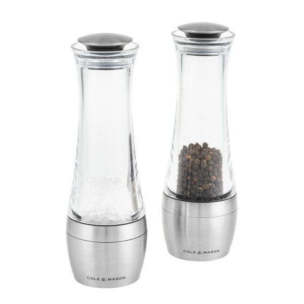 """COLE&MASON Комплект мелнички за сол и пипер """"AMESBURY"""" - 19 см."""