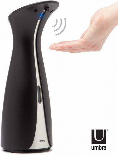 """UMBRA Сензорен диспенсър за сапун и дезинфектант """"OTTO"""" - 250 мл - цвят черен"""