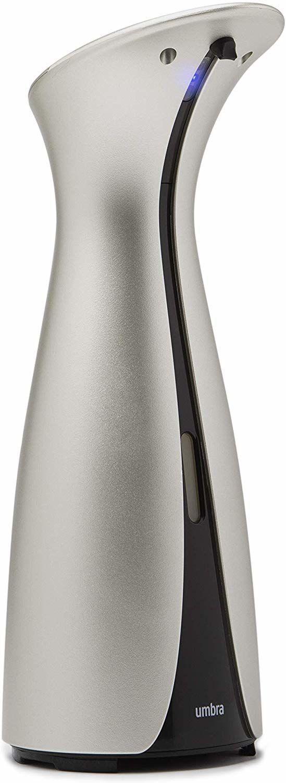 """UMBRA Сензорен диспенсър за сапун и дезинфектант """"OTTO"""" - 250 мл - цвят никел"""
