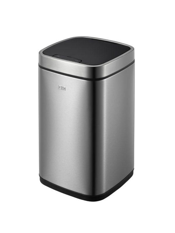 """EKO Сензорен кош за отпадъци """"ECOSMART"""" - 12 литра - мат"""