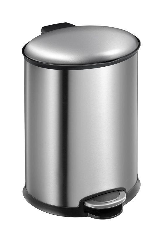 """EKO Кош за отпадъци с педал  """"ELLIPSE""""- 12 литра - мат"""