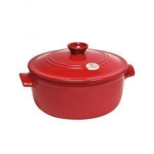 3 л - Ø 28 см - цвят червен