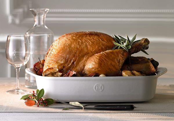 eh 9654 amb ultime platrectangle rectangulardish dinde turkey h 2 Марка: Emile Henry <br />Модел: EH 9654-02<br />Доставка: 2-4 работни дни<br />Гаранция: 2 години