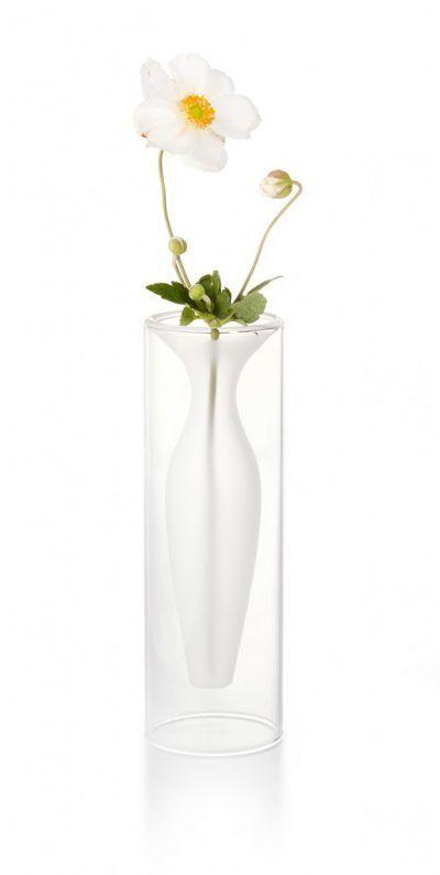 "PHILIPPI Стъклена ваза ""ESMERALDA""- XS размер"
