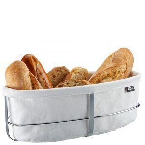 GEFU Панер за хляб BRUNCH - овален - бял