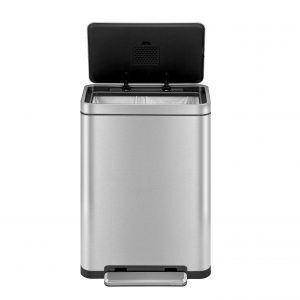"""EKO Кош за отпадъци с педал """"X-CUBE""""- 30 литра - мат"""