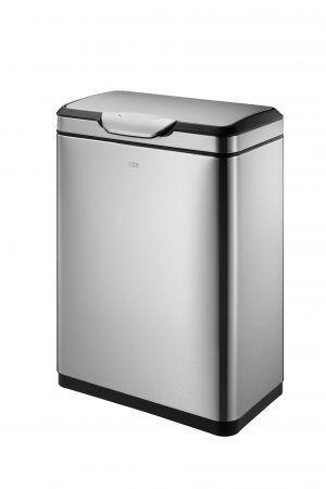 """EKO Кош за отпадъци с TOUCH механизъм """"TOUCH PRO""""- 45 литра - мат"""