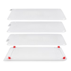 Zyliss Комплект  дъски за рязане 4 в 1 - цвят бял