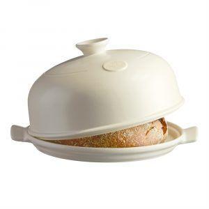 """EMILE HENRY Керамична форма за печене на хляб """"BAKER CLOCHE"""" - цвят екрю"""