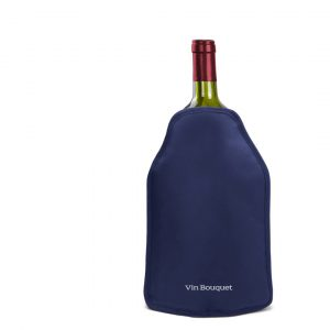 Vin Bouquet Охладител за бутилки голям - цвят син