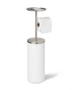 """UMBRA Стойка за тоалетна хартия с отделение за допълнителни ролки """"PORTALOO"""""""