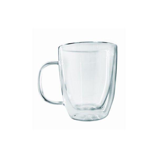 taza de cristal de doble pared 2 Марка: Vin Bouquet <br />Модел: VB FIH 660<br />Доставка: 2-4 работни дни<br />Гаранция: 2 години