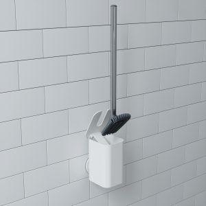 """UMBRA Четка за тоалетна """"FLEX SURE-LOCK"""" - бял цвят"""