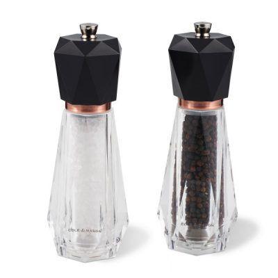 """COLE&MASON Комплект мелнички за сол и пипер """"SOMERTON ANTIQUE BRASS"""""""