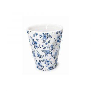 "Nerthus Порцеланова чаша за еспресо ""FLORES"" - 100 мл."