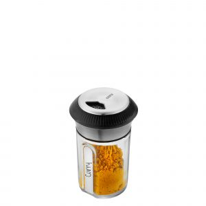 GEFU Стъклено бурканче за подправки с дозатор X-PLOSION®