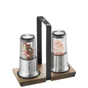 GEFU Комплект мелнички за сол и пипер X-PLOSION® със стойка