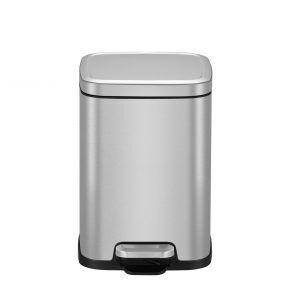 """EKO Кош за отпадъци с педал """"STELLA"""" - 6 литра - мат"""