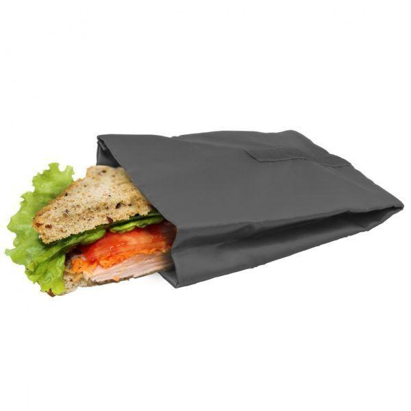 bolsa reutilizable para sandwich gris Марка: Vin Bouquet <br />Модел: VB FIH 738<br />Доставка: 2-4 работни дни<br />Гаранция: 2 години
