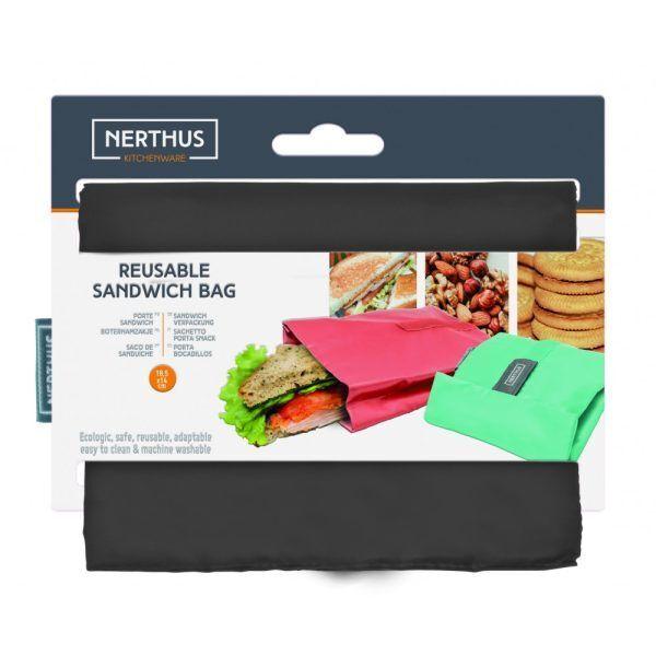 bolsa reutilizable para sandwich gris 2 Марка: Vin Bouquet <br />Модел: VB FIH 738<br />Доставка: 2-4 работни дни<br />Гаранция: 2 години