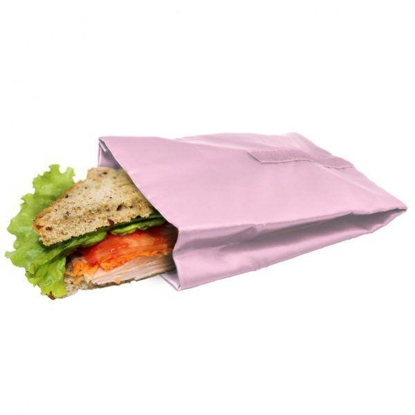 bolsa reutilizable para sandwich rosa pastel Марка: Vin Bouquet <br />Модел: VB FIH 740<br />Доставка: 2-4 работни дни<br />Гаранция: 2 години