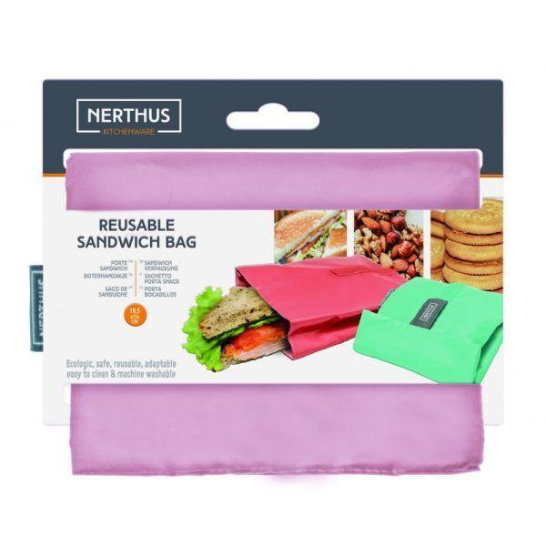bolsa reutilizable para sandwich rosa pastel 2 Марка: Vin Bouquet <br />Модел: VB FIH 740<br />Доставка: 2-4 работни дни<br />Гаранция: 2 години