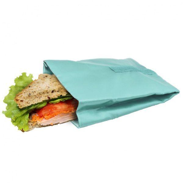 bolsa reutilizable para sandwich turquesa Марка: Vin Bouquet <br />Модел: VB FIH 736<br />Доставка: 2-4 работни дни<br />Гаранция: 2 години