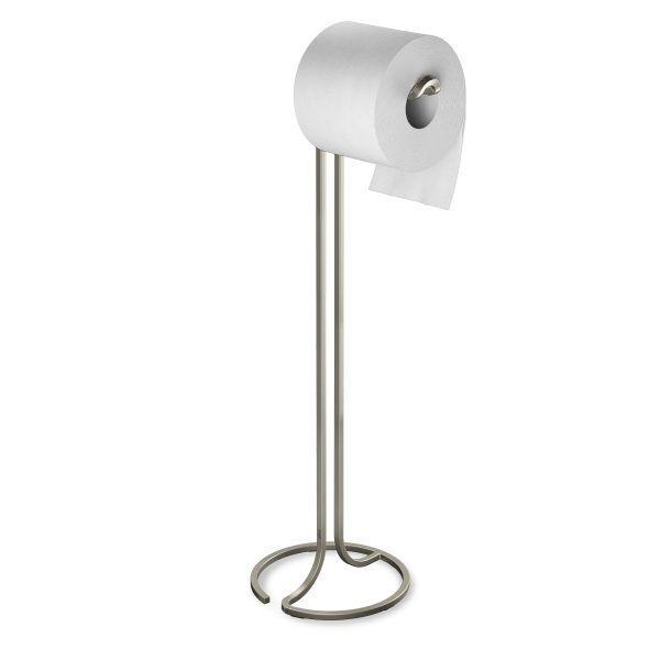 """UMBRA Стойка за тоалетна хартия """"SQUIRE"""" - цвят никел"""