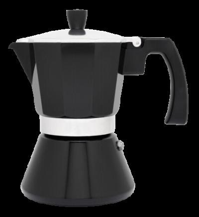 "LEOPOLD VIENNA Кафеварка ""TIVOLI"" за 6 кафета - цвят черен"