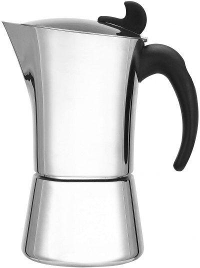 "LEOPOLD VIENNA Стоманена кафеварка ""ANCONA"" за 6 кафета"