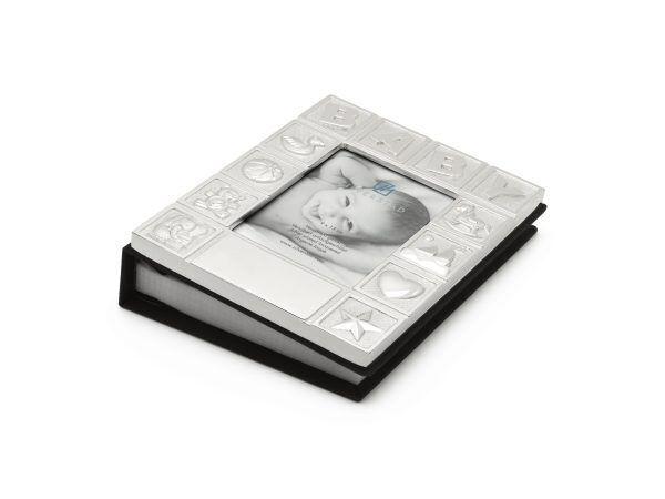 """ZILVERSTAD Фотоалбум със сребърно покритие """"Бебе"""""""