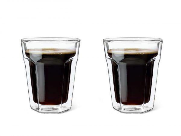 LEOPOLD VIENNA Комплект от 2 бр двустенни стъклени чаши - 220 мл