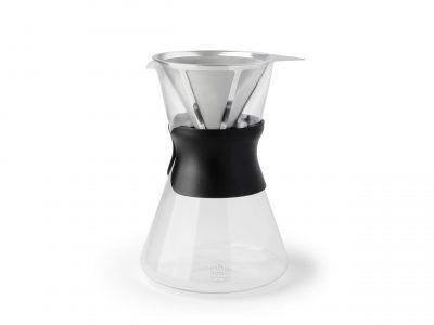 """LEOPOLD VIENNA Стъклена кана за кафе с филтър """"LENTO"""" - 880мл"""