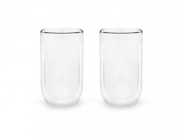 BREDEMEIJER Сет от 2 двустенни стъклени чаши - 400 мл.