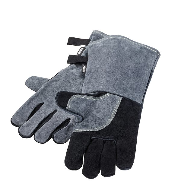 GEFU Кожени ръкавици за барбекю BBQ - сиво-черни