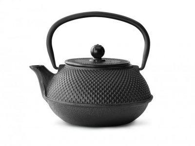 """BREDEMEIJER  Чугунен чайник """"Jang"""" - черен - 0.8 л."""