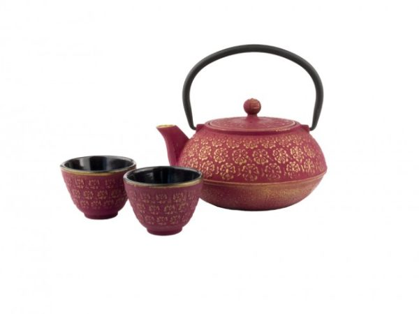 "BREDEMEIJER Подаръчен чугунен сет за чай ""Shanghai"" - 3 части"