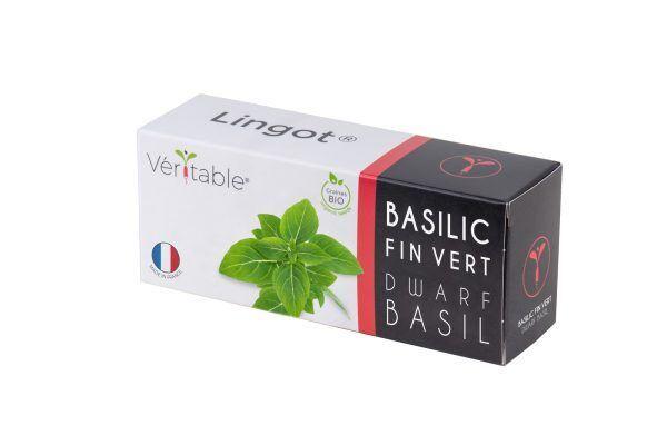 VERITABLE Lingot® Dwarf Basil Organic - Босилек Джудже