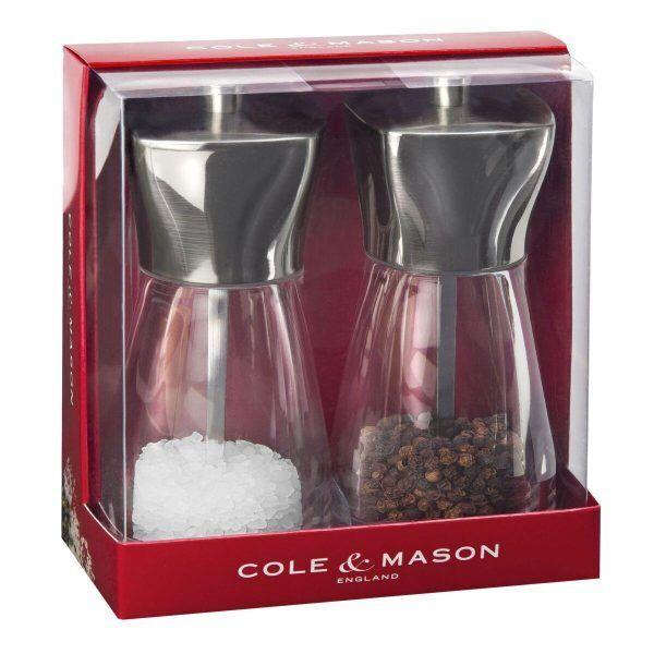"""COLE&MASON Комплект мелнички за сол и пипер """"RYE"""" - 16 см."""
